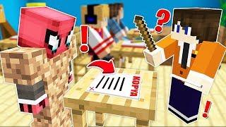 FAKİR KOPYA ÇEKERKEN YAKALANDI! 😱 - Minecraft