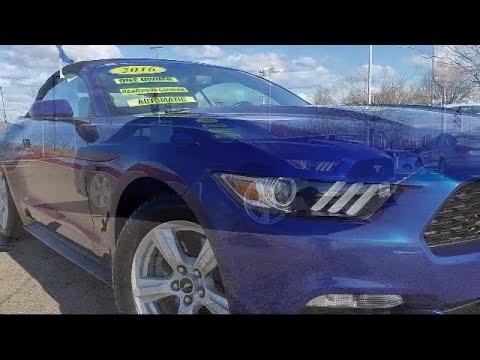 2016 Ford Mustang Convertible V6 Tracy Stockton Modesto Manteca Antioch