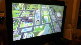 Gameplay of the sims 3 (wii)