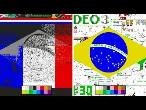 PixelCanvas io - Supremacia dos VOIDS/BRS & BANDEIRA DO BRASIL EM ANDAMENTO