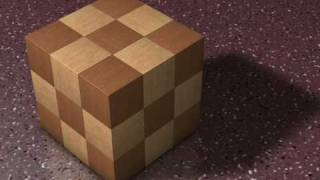 7 Piece Wooden Puzzle