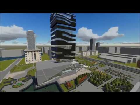 Animation for The Global Stock Exchange Project. Designed by Arch. Ahmad Salameh