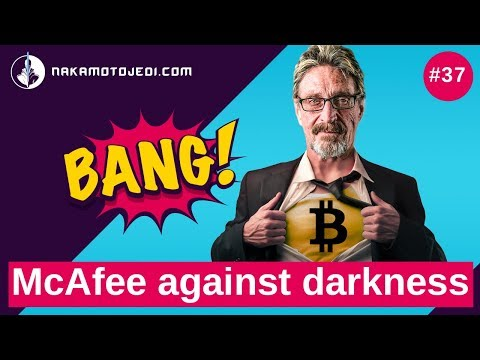 McAfee vs corruption. World and blockchain. New crypto Mecca & Cryptocurrency news