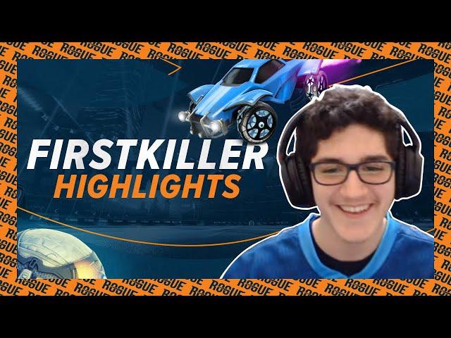 Firstkiller vs NRG, G2, and FaZe!   Rogue Rocket League