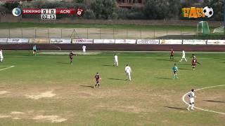 Siderno - Acri 1-1 gara integrale