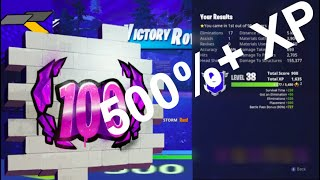 How to get XP FAST in Fortnite Battle Royale | 500%+ More XP PER MATCH | Complete Fortnite XP Guide