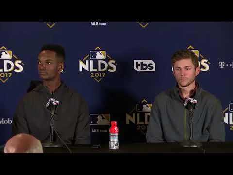 Michael Taylor and Trea Turner Postgame Interview | Nationals vs Cubs Game 4 NLDS