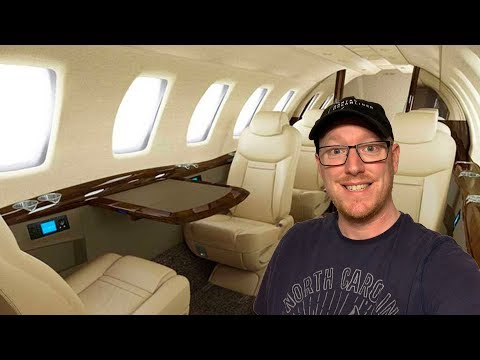 How to fly on a PRIVATE JET for £250!