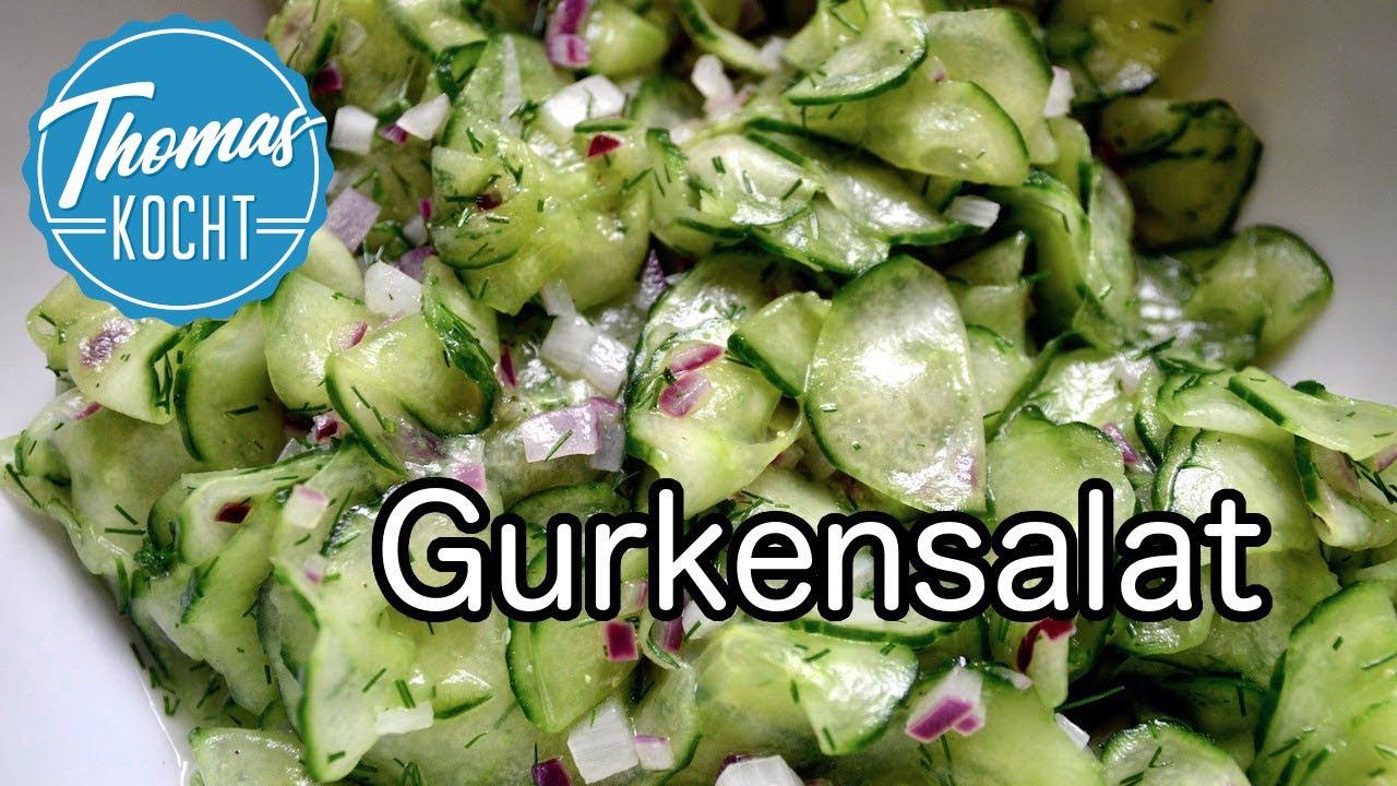 was passt zu gurkensalat