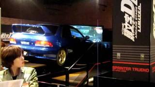 Initial D Realistic Drifting Game at Joypolis Odaiba Tokyo
