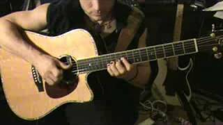 How to play Mr Big - To Be With You acoustic solo.