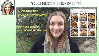 Picture Bucket list - Travel Checklist, Bucket list or groceries list?