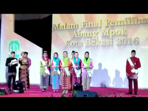 Grand Final Abang Mpok Kota Bekasi 2016 session Q&A