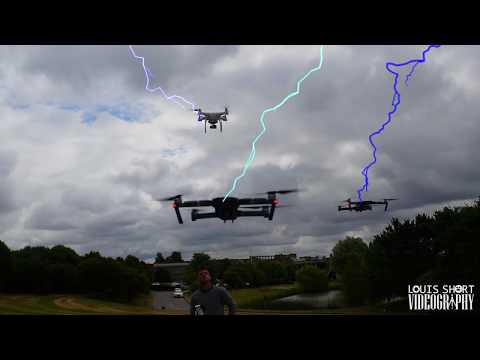 Drone lightening - Flying 3 drones together - No Signal interference