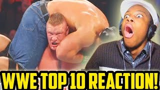Referees Get Wrecked: WWE Top 10 Reaction!