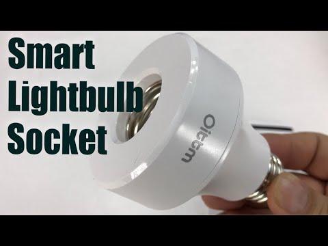 Oittm Smart Light Bulb Socket E26 Adapter Base Review