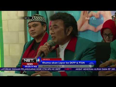 Partai Idaman Rhoma Irama Tak Lolos Seleksi Pemilu 2019 - NET24
