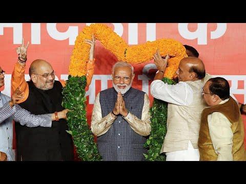 Narendra Modi reeleito primeiro-ministro da Índia