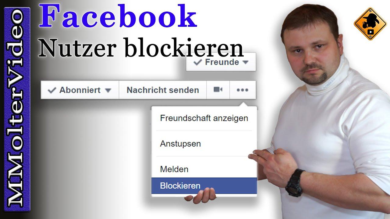 Facebook Nutzer Blockieren