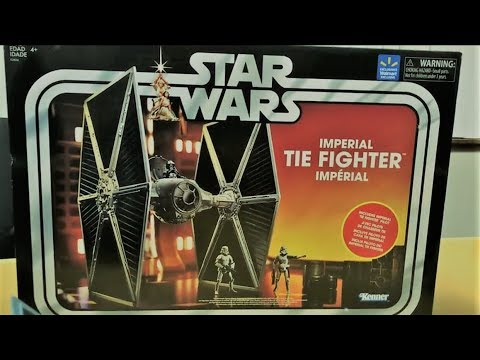 2018 Hasbro Walmart Exclusive Star Wars Imperial Tie Fighter Vintage Collection Toy Review
