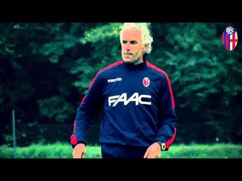 Il primo allenamento di Roberto Donadoni