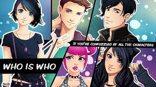Who Is Who- Introducing all  characters of the videos & comic