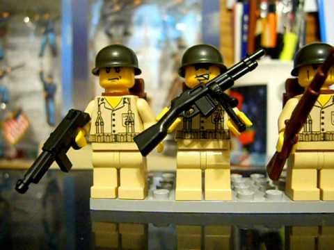 Lego Custom Ww2 Soldiers Youtube