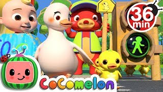 Traffic Safety Song + More Nursery Rhymes & Kids Songs - CoComelon