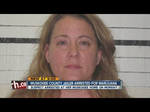 Muskogee County jailer busted for pot