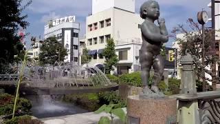 Downtown Okayama Japan - Walking Around City Centre to Famous Garden