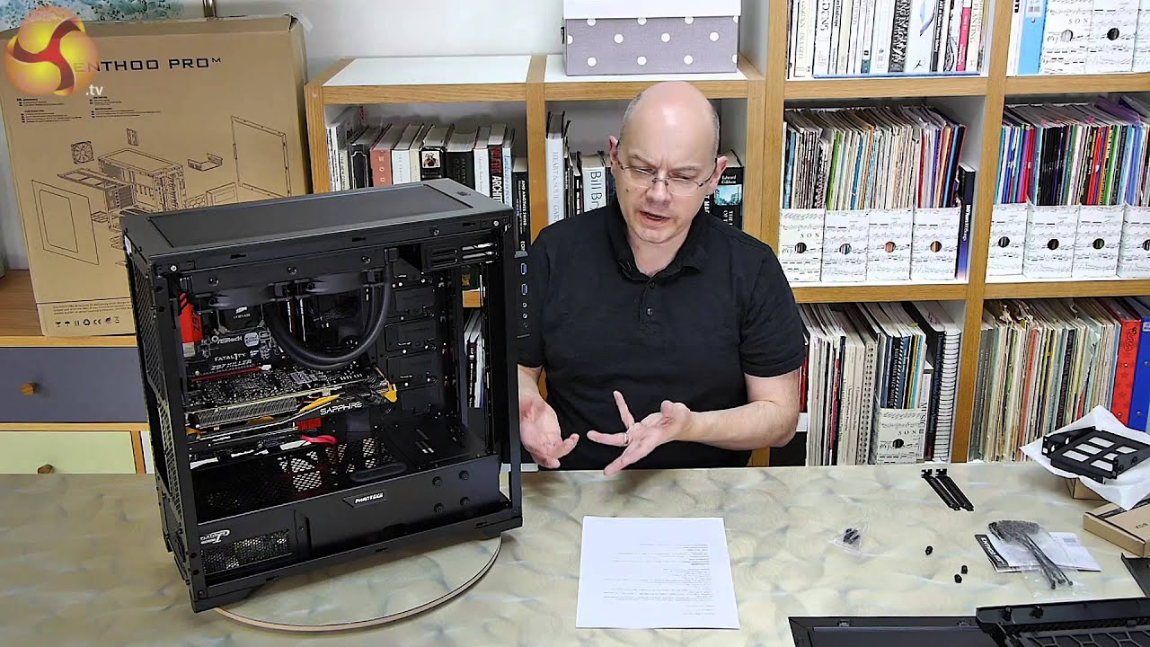 phanteks enthoo pro m chassis review youtube. Black Bedroom Furniture Sets. Home Design Ideas