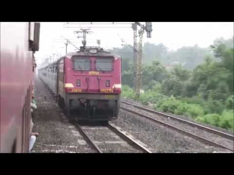 New Delhi Howrah Poorva Express LHB Full Journey: Mughal Sarai-Howrah