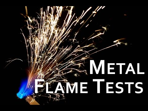 Flame and Flammability (Spark) tests of Metal Powders