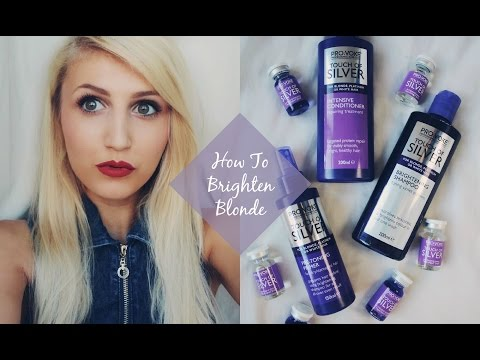 How To Lighten & Brighten Blonde Hair Easily Ad