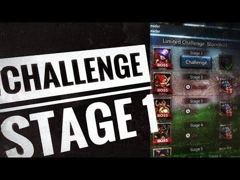 Lords Mobile - Grim Wolf Limited Challenge Stage 1