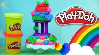 Play Doh Kuchenne Rewolucje • DIY Piętrowy Tort • Kreatywne Zabawy
