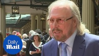 Sir Barry Gibb from the Bee Gees is awarded a knighthood