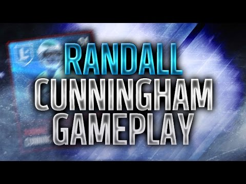 LEGEND RANDALL CUNNINGHAM GAMEPLAY! GLITCH! - Madden Mobile 17