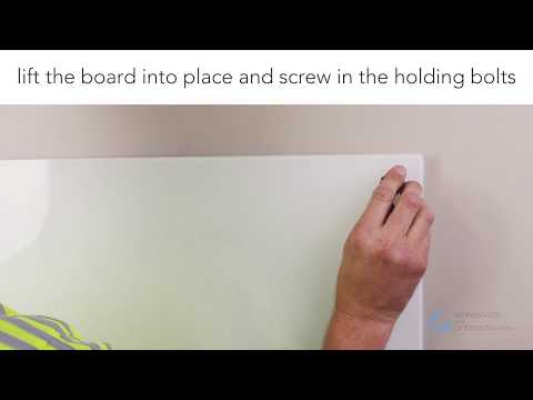 How To Install Your Magnetic Glass Whiteboard
