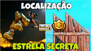 STAR LOCATION/SECRET CATEGORY-Week 7 Season 8-FORTNITE BATTLE ROYALE