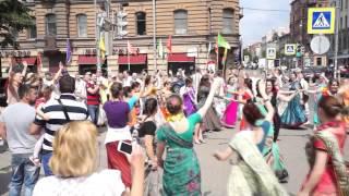 Харинама Санкт Петербург ( июнь 2015) Танцуют все!  Saint Petersburg  Harinama