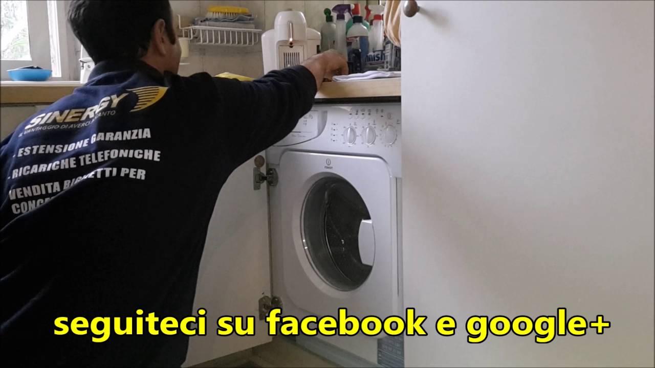 Lavatrice da incasso INDESIT CLASSE A++A 1000 GIRI - YouTube
