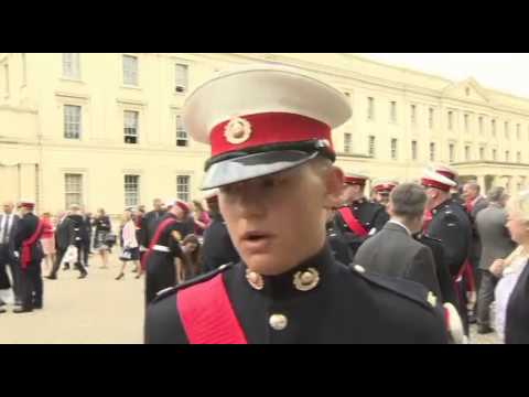 Royal Approval for Royal Marines Cadets 08.07.14