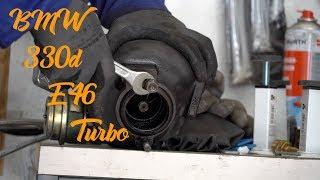 BMW /// 330D /// E46 Ставим турбину и первый тест драйв!