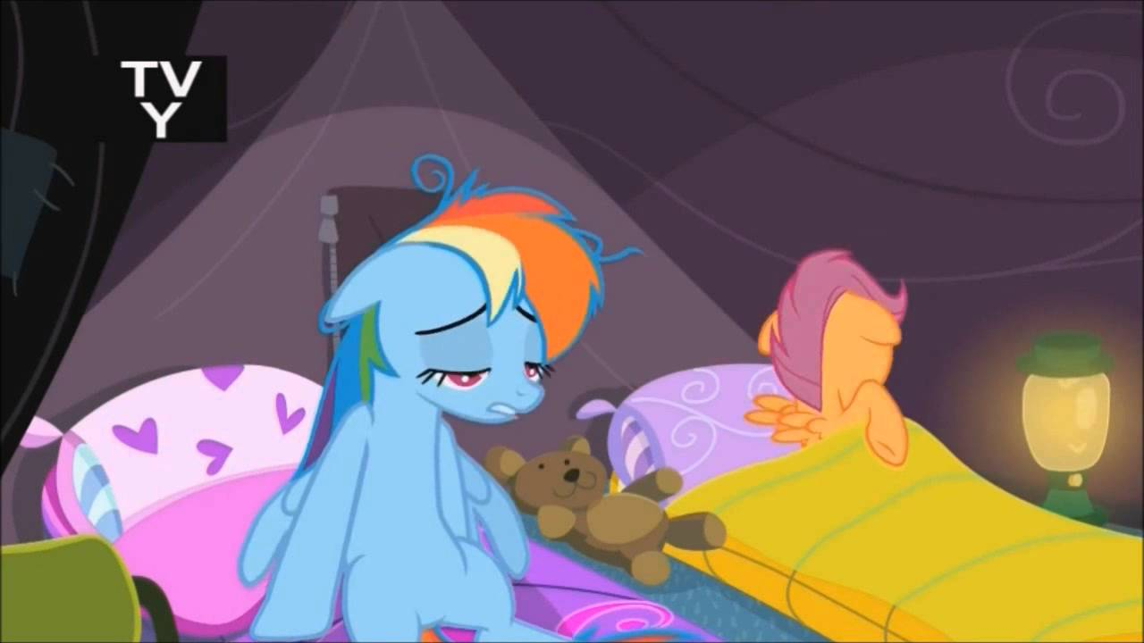 Scootaloo Can T Sleep Clown Will Eat Her Youtube