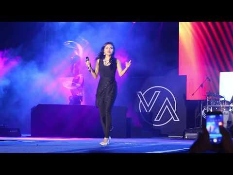 VIDYA VOX LIVE PERFORMANCE @ KUTHU FIRE TOUR HYDERABAD 2017 in HD