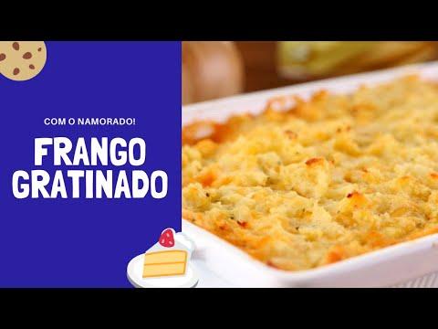 Namorado Na Cozinha: FRANGO GRATINADO DO LUCCAS! 🤤😋