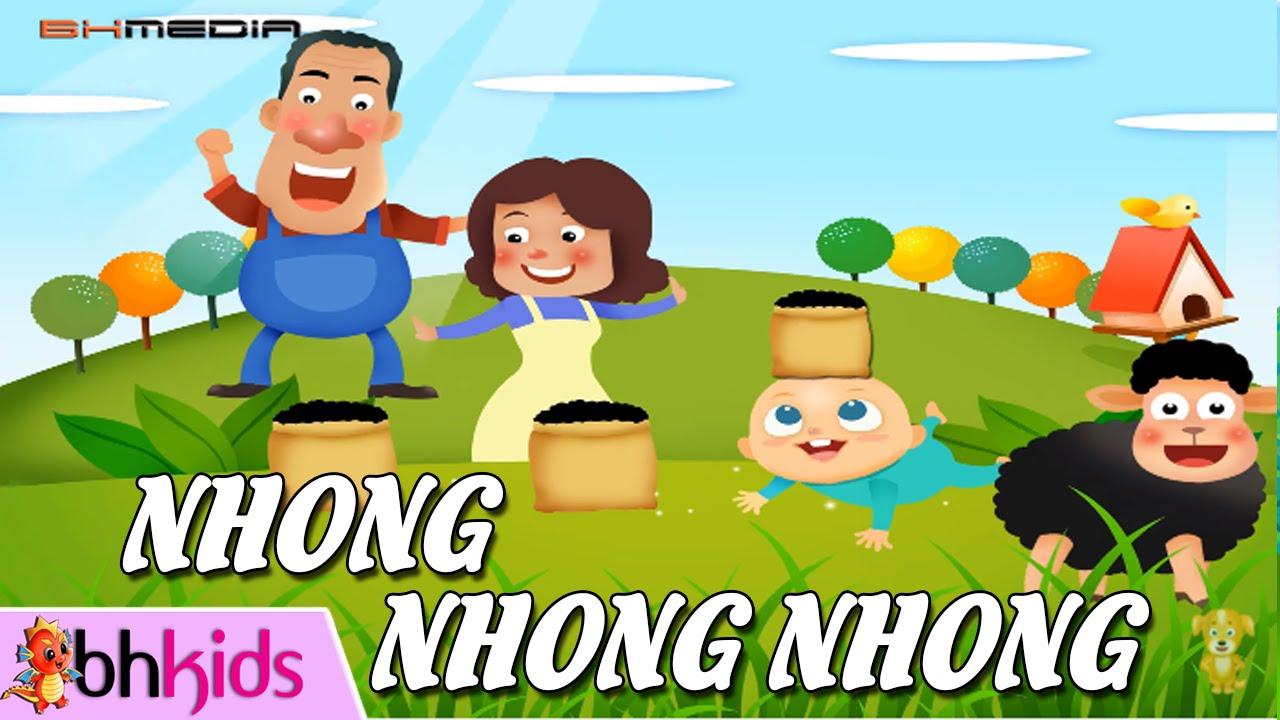 Liên Khúc Nhong Nhong Nhong – Nhạc Thiếu Nhi Sôi Động Cho Bé