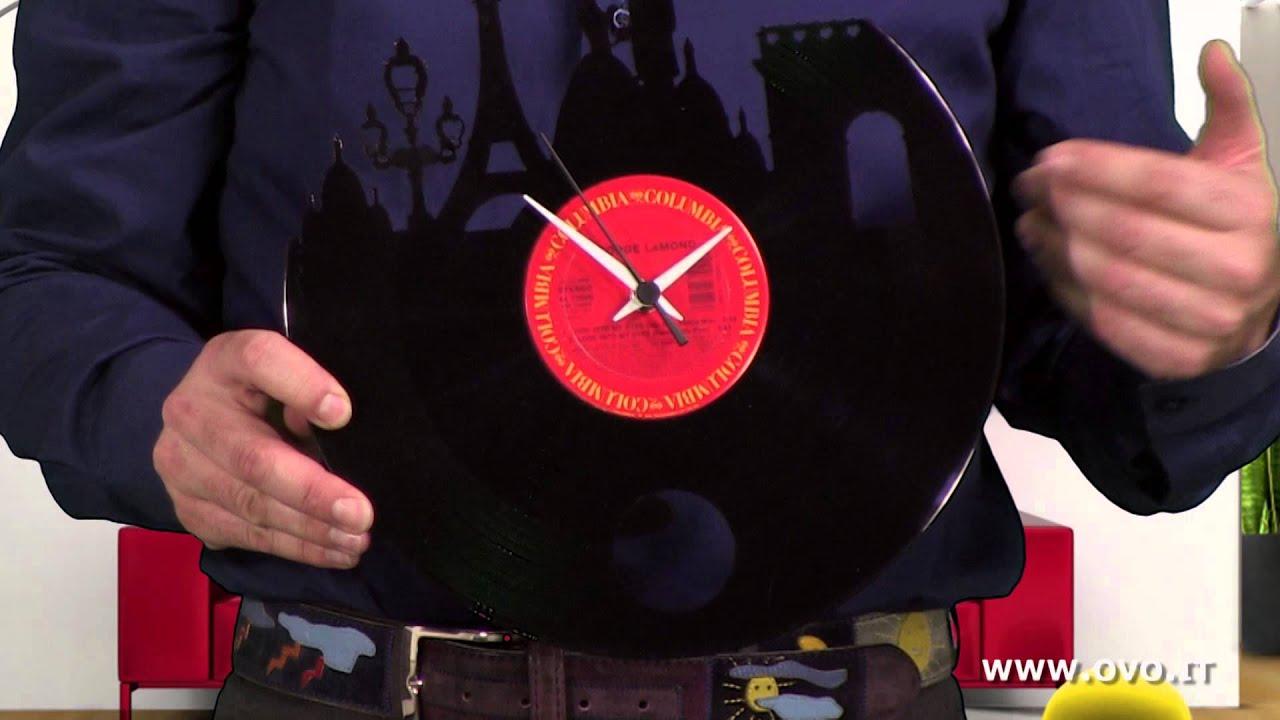 Appendere 33 Giri come realizzare un orologio da parete con un disco in vinile