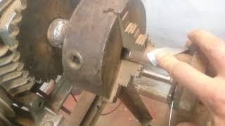 Обзор моего станка для навивки стальной лентой трубы 1 часть